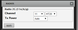 Image of wifi channels window