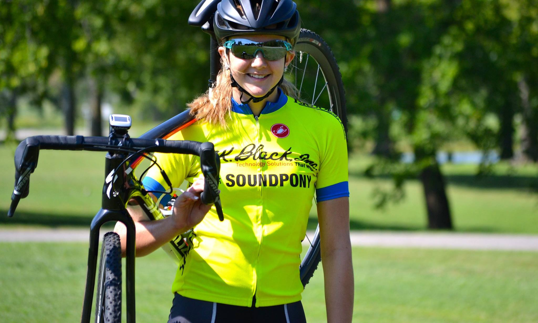 Elite cyclocross team SPCX p/b R.K. Black member 14-year-old Aubrey Drummond.