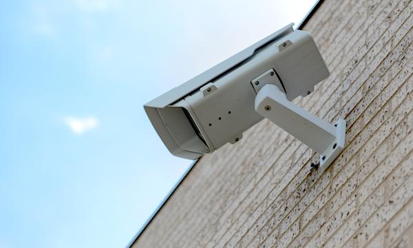 Image of exterior security camera