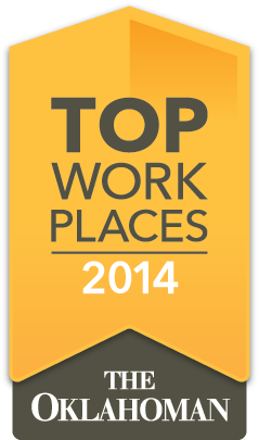 Oklahoman Top Workplace 2014