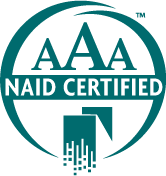 Image showing R.K. Black, Inc. as AAA NAID certified in Oklahoma City, OK